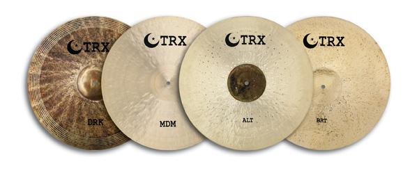 The Return Of A Classic: TRX Crash-Ride Cymbals