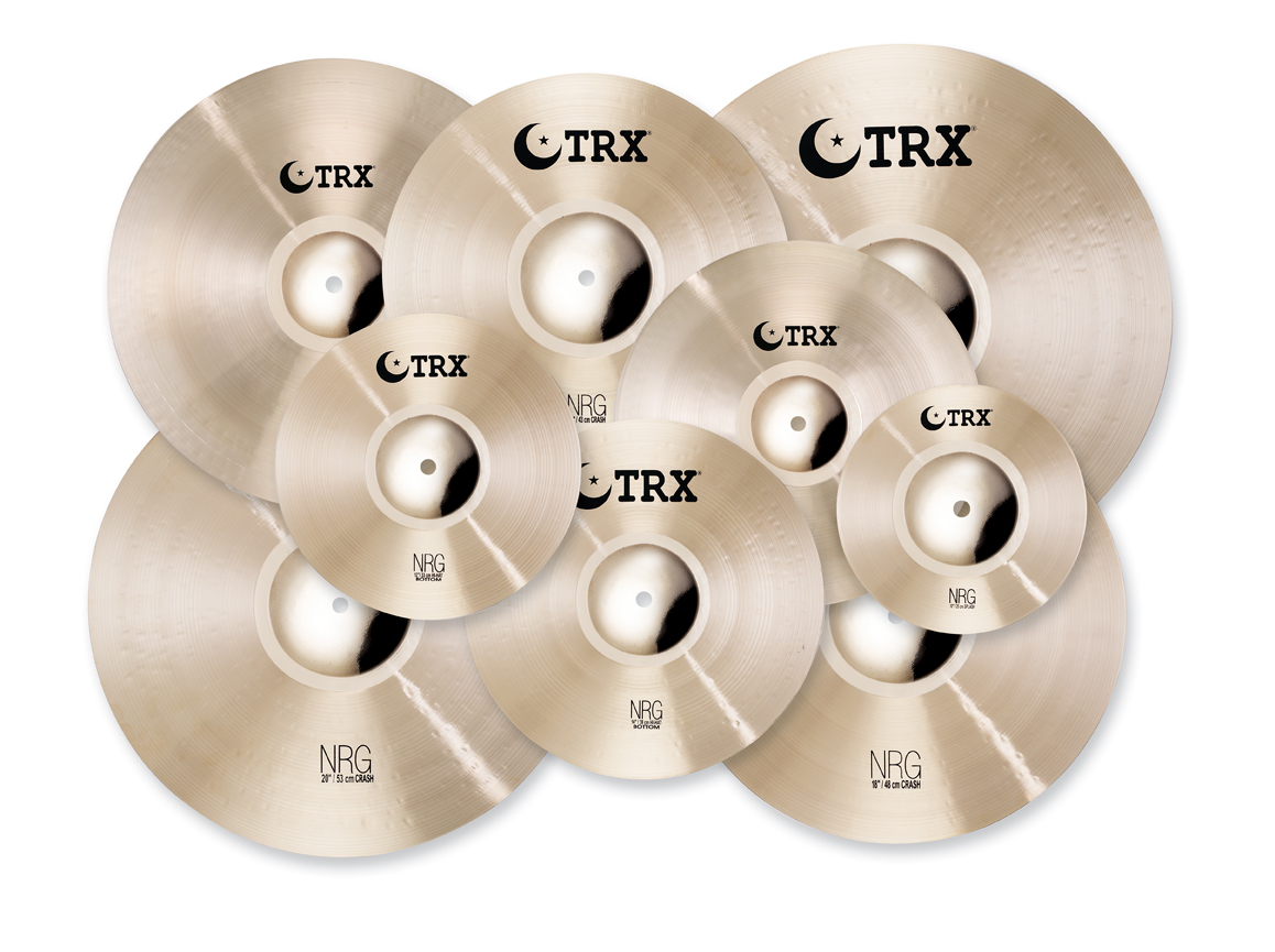"""TRX Expands Cymbal Spectrum With New """"NRG"""" Series"""