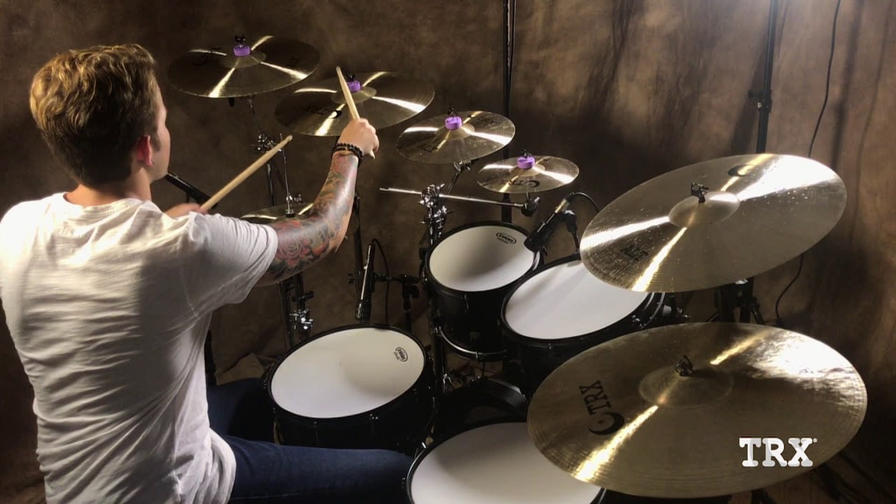 TRX ALT Series Cymbals – with Harley DeWinter