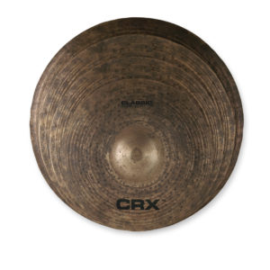 CRX Classic Set: 14″ Hi-Hat, 16″ Crash, 18″ Crash, 20″ Ride W/Bag